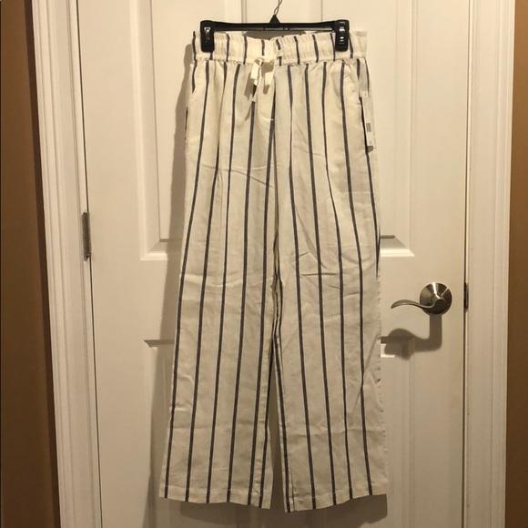 Sharagano Pants - Sharagano Havana linen pants